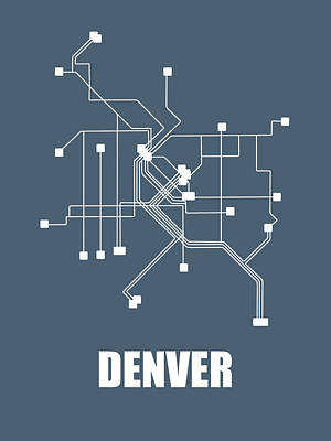 Designs Similar to Denver Subway Map