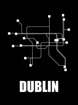 Designs Similar to Dublin Black Watercolor Map