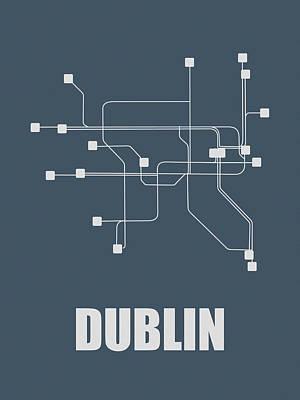 Designs Similar to Dublin Subway Map