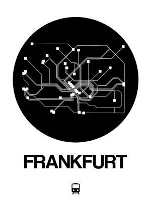 Designs Similar to Frankfurt Black Subway Map