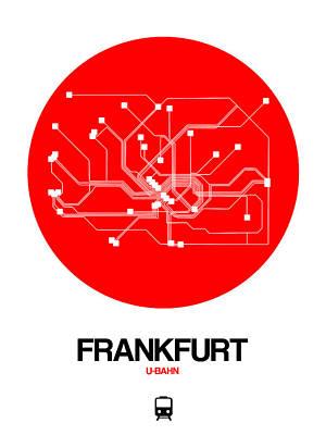 Designs Similar to Frankfurt Red Subway Map