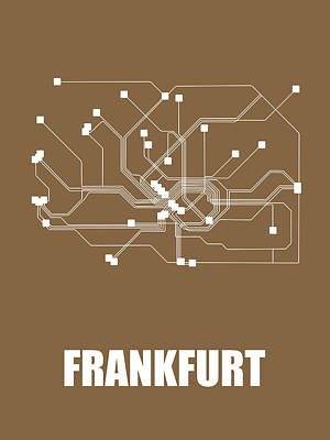 Designs Similar to Frankfurt Subway Map 2