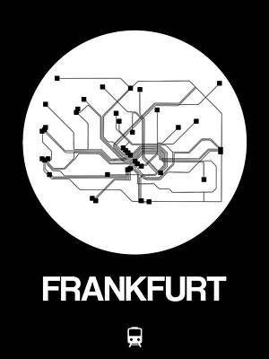 Designs Similar to Frankfurt White Subway Map