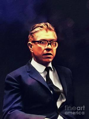 Designs Similar to Fred Hoyle, Astronomer