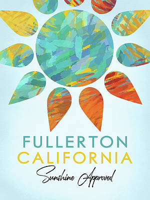Designs Similar to Fullerton California Sunshine