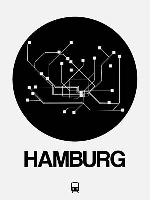 Designs Similar to Hamburg Black Subway Map