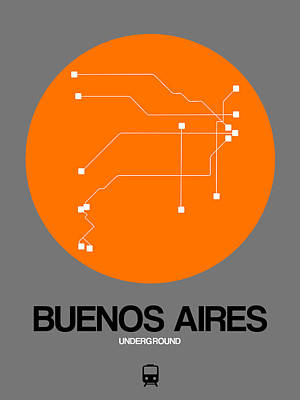 Designs Similar to Hamburg Orange Subway Map