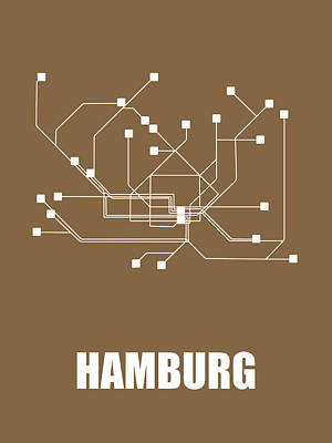 Designs Similar to Hamburg Subway Map 2
