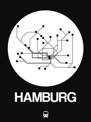 Designs Similar to Hamburg White Subway Map