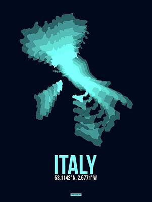 Designs Similar to Italy Radiant Map 1