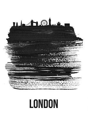 London Skyline Mixed Media