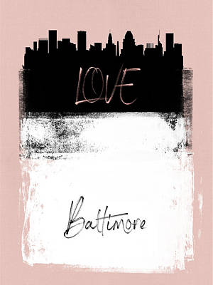 Designs Similar to Love Baltimore by Naxart Studio