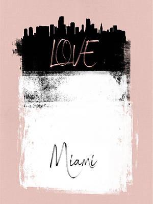 Designs Similar to Love Miami by Naxart Studio