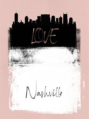 Designs Similar to Love Nashville by Naxart Studio