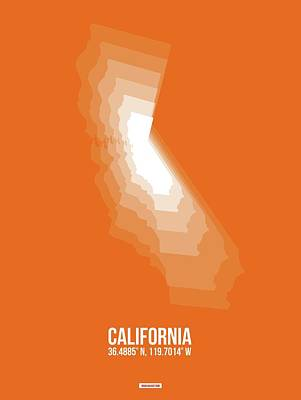 Designs Similar to Map Of California White