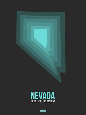 Designs Similar to Map Of Nevada Teal