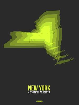 Designs Similar to Map Of New York Yellow