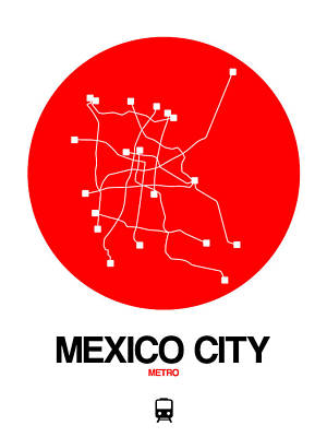 Designs Similar to Mexico City Red Subway Map