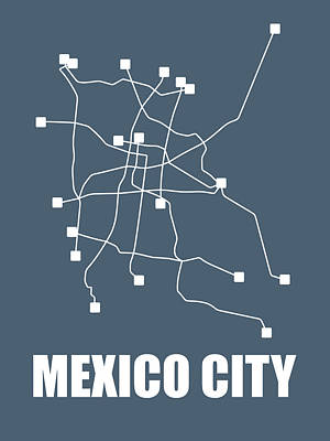 Designs Similar to Mexico City Subway Map