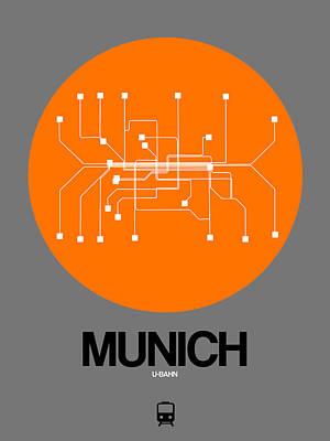 Designs Similar to Munich Orange Subway Map