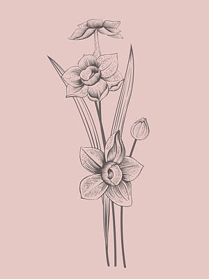 Designs Similar to Narcissus Blush Pink Flower