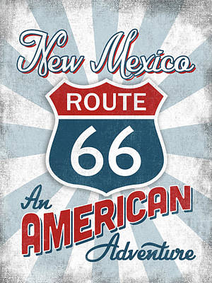 Designs Similar to New Mexico Route 66 America