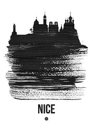 Designs Similar to Nice Skyline Brush Stroke Black