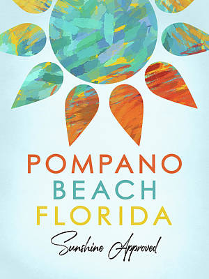 Designs Similar to Pompano Beach Florida Sunshine