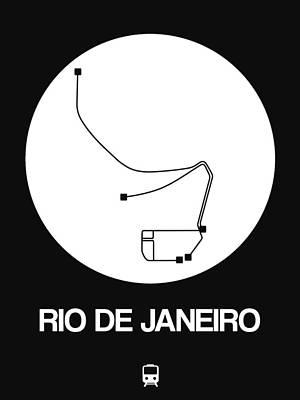 Designs Similar to Rio De Janeiro White Subway Map