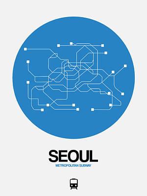 Designs Similar to Seoul Blue Subway Map