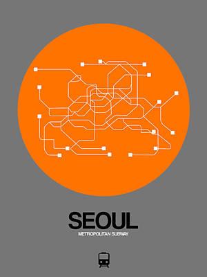Designs Similar to Seoul Orange Subway Map
