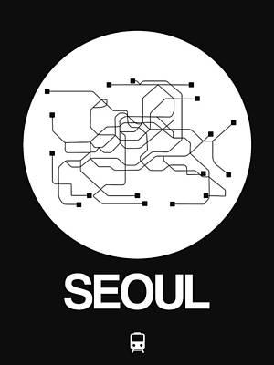 Designs Similar to Seoul White Subway Map