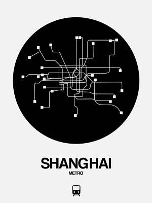 Designs Similar to Shanghai Black Subway Map