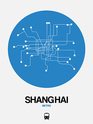 Designs Similar to Shanghai Blue Subway Map