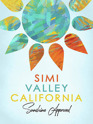 Designs Similar to Simi Valley California Sunshine