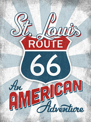Designs Similar to St Louis Route 66 America