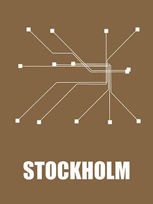 Designs Similar to Stockholm Subway Map 2