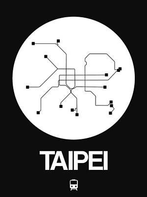 Designs Similar to Taipei White Subway Map