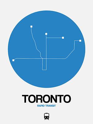 Designs Similar to Toronto Blue Subway Map