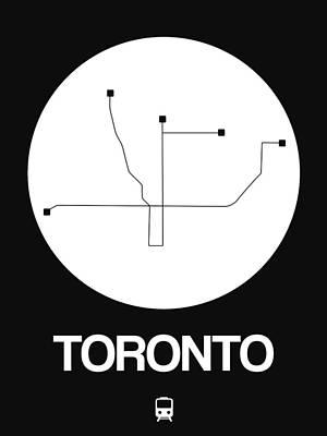 Designs Similar to Toronto White Subway Map