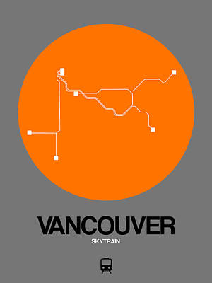 Designs Similar to Vancouver Orange Subway Map
