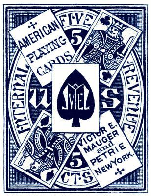 Designs Similar to 1877 Playing Cards Tax Stamp