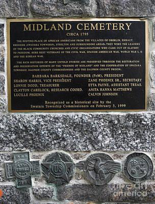 Midland Cemetery Photographs