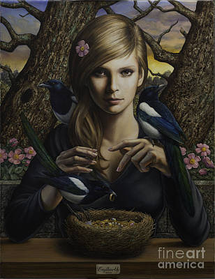 Magpies Original Artwork