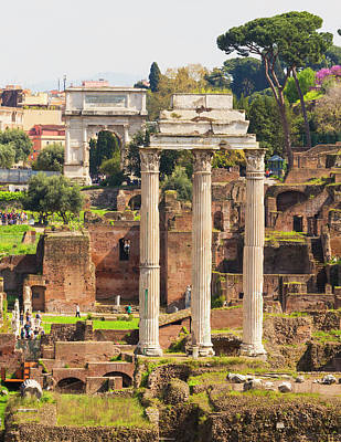Temple Of Castor And Pollux Art