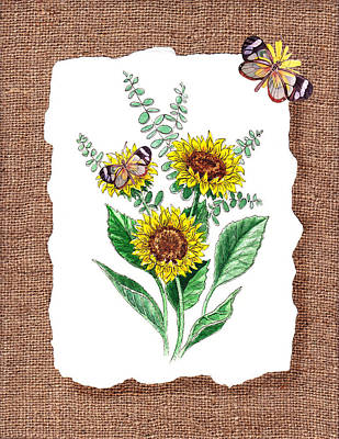 Designs Similar to Sunflowers And Butterflies