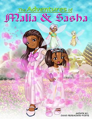 Obama Children Mixed Media