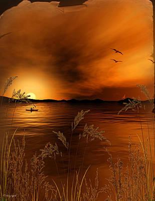 Brown Toned Art Digital Art Prints