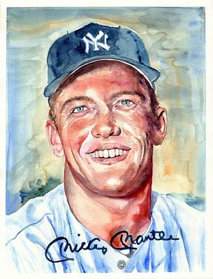 Mickey Mantle Posters