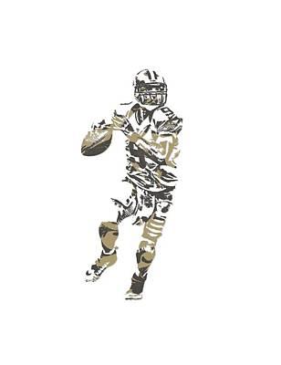 New Orleans Saints Mixed Media